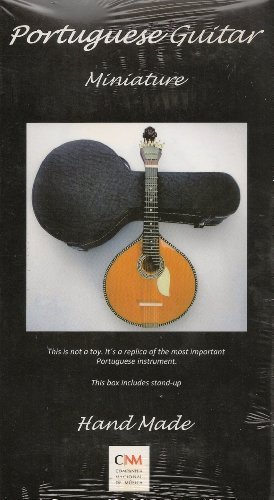 Hand Made Portuguese Guitar Miniature : Portuguese Guitar: Amazon ...