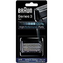 Braun Foil/Cutter For All 5000/6000 Series Black