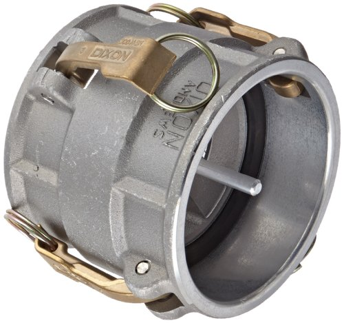 Dixon 400-DDVR-AL Aluminum Cam and Groove Hose Fitting, Vapor Recovery Coupler with Probe, 4