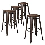 wood bar stool chairs - LCH 30