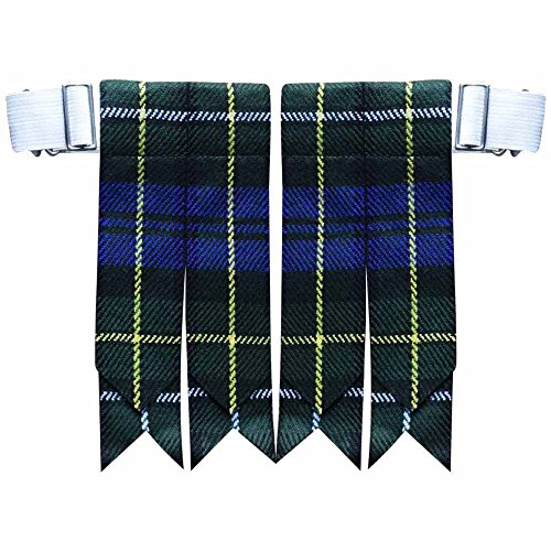 new-solid-plain-black-royal-stewart-tartan-many-more-kilt-flashes-multi-colors-campbell-of-argyll