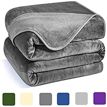 Charm Heart Luxury Fleece Blanket,Winter 350GSM Blanket Super Soft Warm Thick Blanket for Home Bed Blankets King Size, Dark Grey 90×108 in