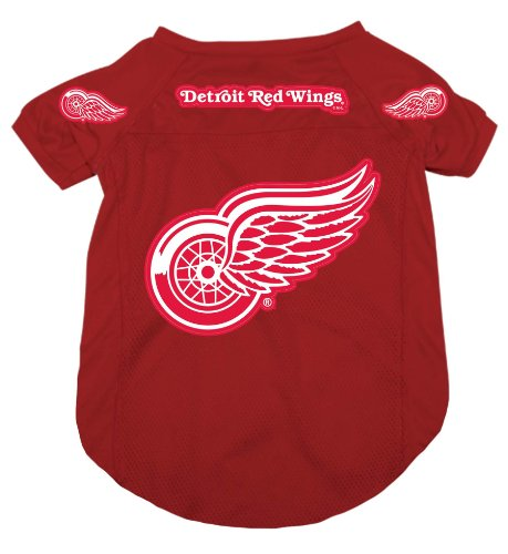 Detroit Red Wings Pet Dog Hockey Jersey - Hockey Red Dog