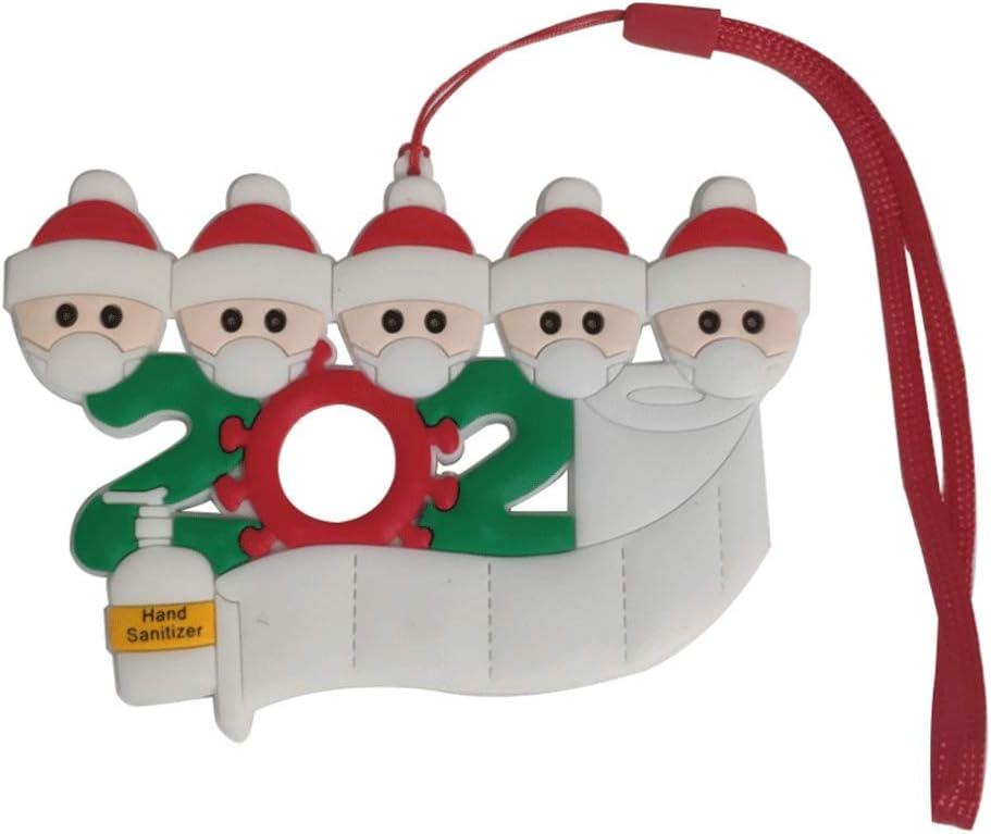 Santa Claus Ornament 2020 Christmas Decorations Xmas Tree Pendant Acces