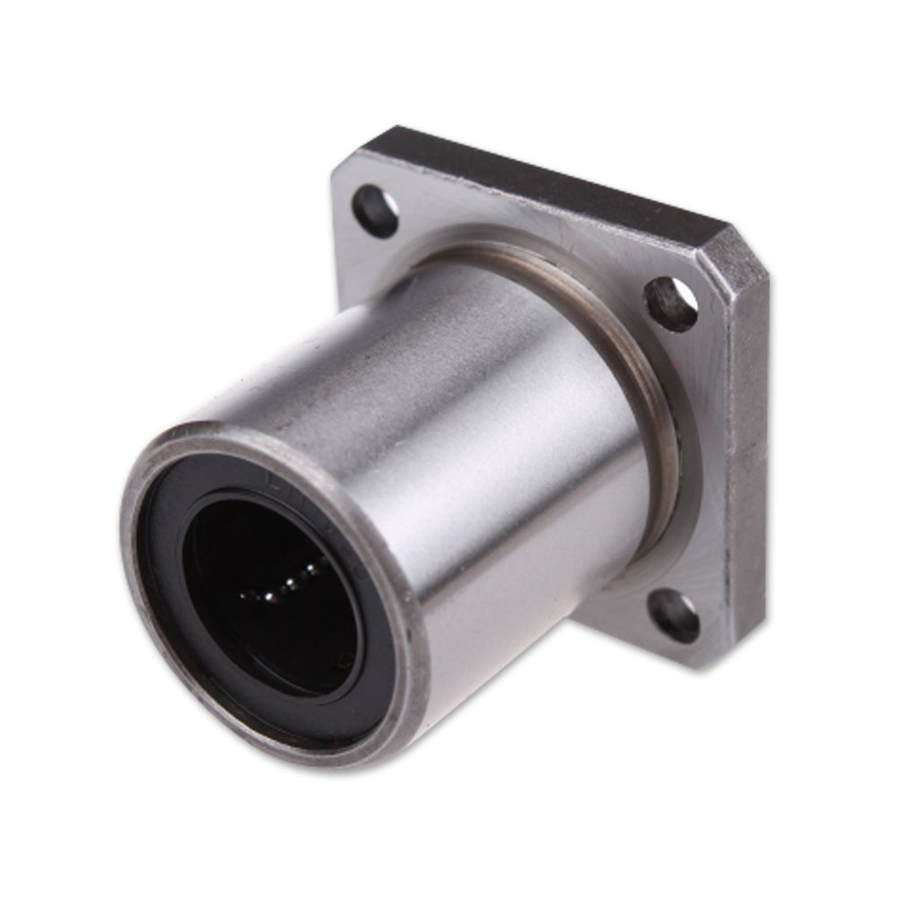 8mm Square Flanged CNC Router Linear System Bushing