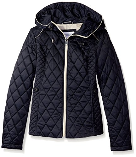 Nautica Q120313A Womens Quilted Jacket