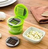 Garlic Chopper, Vegetable Chopper, Food Chopper Fruit Chopper, Salsa Chopper Spice Tools For Your Kitchen (green)