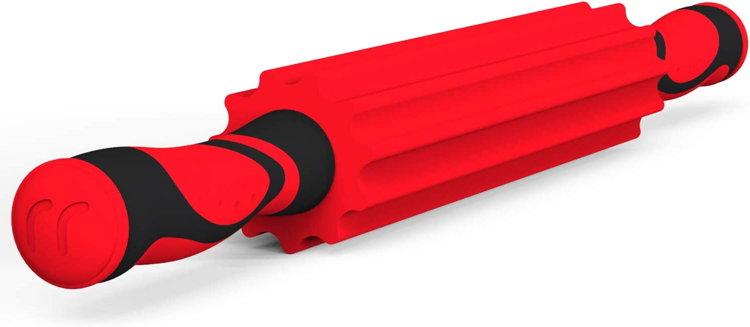 Upgraded New Model Foam Roller 20 inch Massage Roller Stick for Muscle Recovery and Myofascial Trigger Point Release