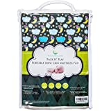 #1 BEST Pack N Play Waterproof Mattress Pad – Fits ALL Mini Portable Crib Mattresses - Silky Soft, Hypoallergenic - Machine Wash & Dry - By Nursery Necessities