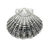 Sterling Silver Scallop Shell Pill Box