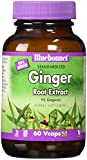 BlueBonnet Ginger Root Extract Supplement, 60 Count