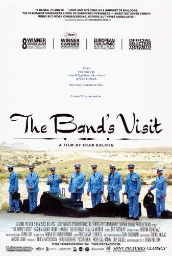 The Band's Visit Poster 27x40 Shlomi Avraham Saleh Bakri Ronit Elkabetz