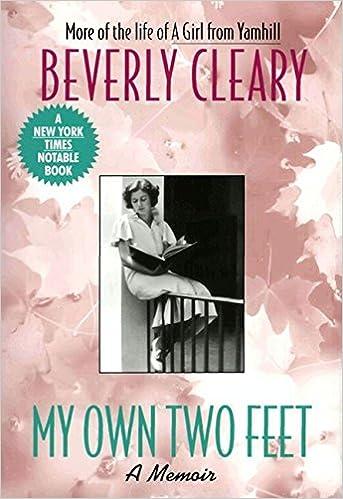 My own two feet a memoir beverly cleary 9780380727469 amazon my own two feet a memoir beverly cleary 9780380727469 amazon books fandeluxe Gallery