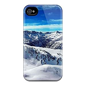 Ice Mountains Blue Sky Cases Compatible With For Case Samsung Note 4 Cover Hot Protection Cases
