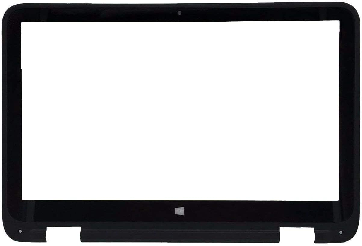 "HUAHAI 13.3"" Touch Screen Glass Digitizer Panel + Bezel Frame for HP Pavilion X360 13A 13-a001xx 13-a010dx 13-a010nr (Not a Display)"