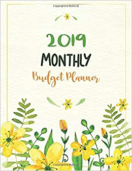 amazon com 2019 monthly budget planner expense tracker bill