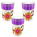 Owl Blossom Party Cups - 24 Guests