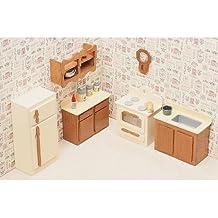 Greenleaf Dollhouse Furniture Kit for Kitchen