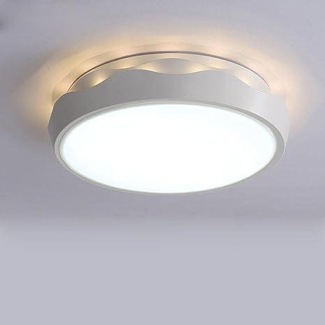 Moderno Diseño LED Ronda Luz de techo 24W 43 Acrílico Sombra ...