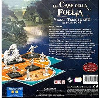 Asmodee-Le Case della Follia 2a Edizione: Viaggi Terrificanti, Gioco da Tavolo, Colore, 9406