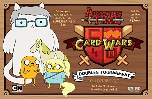 Adventure Time Card Wars Doubles Tournament Card Game by Cryptozoic Entertainment