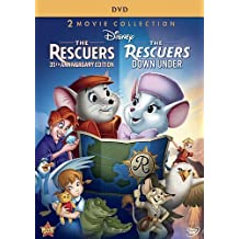 The Rescuers (The Rescuers / The Rescuers Down Under) (35th Anniversary Edition) by Walt Disney Video by Wolfgang Reitherman