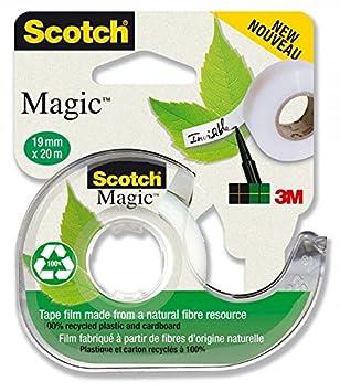 """Scotch Magic 900""""La elección más sostenible"""" - Dispensador reciclado 100% y 1"""