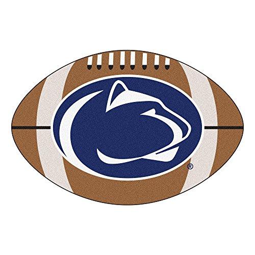 FANMATS NCAA Penn State Nittany Lions Nylon Face Football Rug