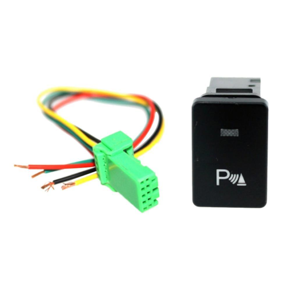 Fahren Recorder Symbol IPOTCH Auto KFZ Schalter f/ür Nebelscheinwerfer Scheinwerfer Wippschalter Ein-//Ausschalter