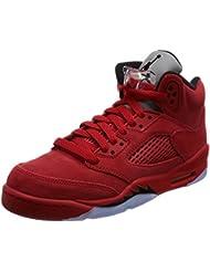 Jordan Nike Kids Air 5 Retro Bg Basketball Shoe