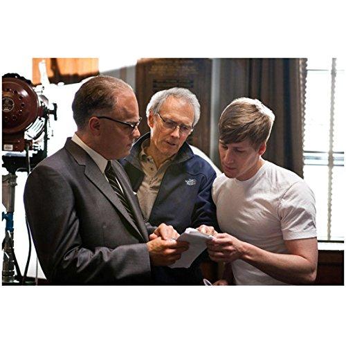 J. Edgar Leonardo DiCaprio as J. Edgar Hoover with Director 8 x 10 Inch Photo