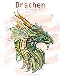 Drachenmalbuch für Erwachsene 1 & 2