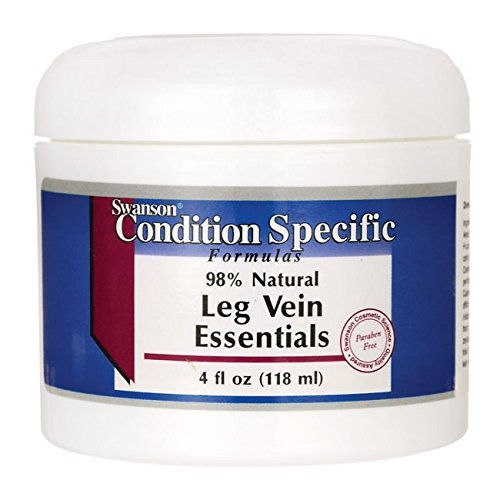 Swanson Leg Vein Essentials Cream 4 fl oz (118 ml) (Leg Cream)