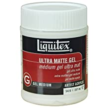 Liquitex Ultra Matte Gel Medium, 8-Ounce