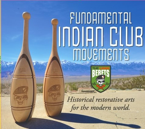 Indian Clubs Introduction Set - Two 1lb & Two 2lb Walnut & Maple Clubs with Training DVD by Revolution Clubs (Image #3)