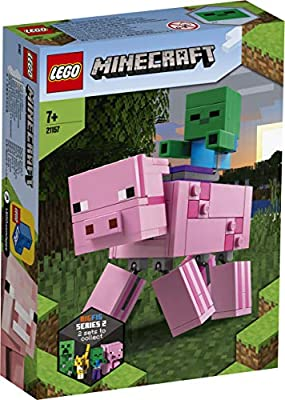LEGO - BigFig: Cerdo con Bebé Zombi (21157): Amazon.es ...