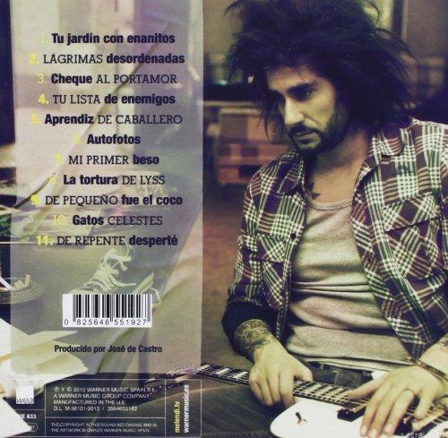 album lagrimas desordenadas melendi