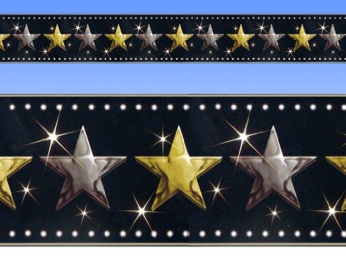 Amscan - 40' Hollywood Stars Border Roll