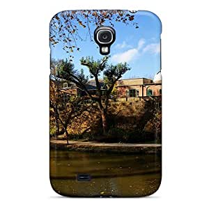 Defender Case For Galaxy S4, Observatory By The River In Utrecht Pattern
