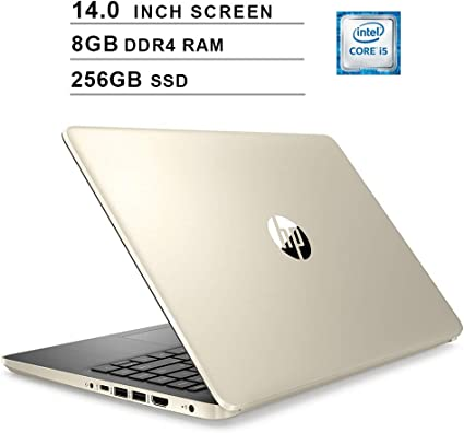 Amazon Com 2020 Hp Pavilion Newest 14 Inch Laptop 10th Gen Intel 4 Core I5 1035g1 Up To 3 6ghz Intel Uhd Graphics 8gb Ddr4 Ram 256gb Ssd Wifi Bluetooth Hdmi Webcam Windows 10 Home Gold