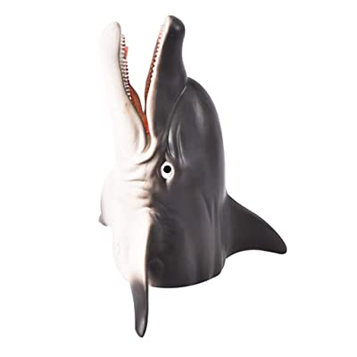 Vincent & July Hand Puppet Toys, Tecesy Animal Puppets Role Play Toy , Soft Rubber Realistic Sea Animal Head for Children Perfect for Storytelling, Teaching, Preschool & Role-Play: Toys & Games
