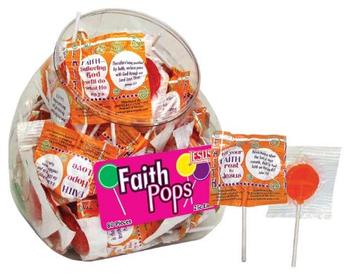 Scripture Candy Faith Pop Tub