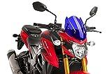 Puig Windscreen Naked New Generation Sport 2017 Suzuki GSX-750 Blue Windshield Screen 9435A