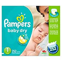 Pampers\x20Baby\x20Dry\x20Newborn\x20Diapers\x20Size\x201,\x20252\x20Count