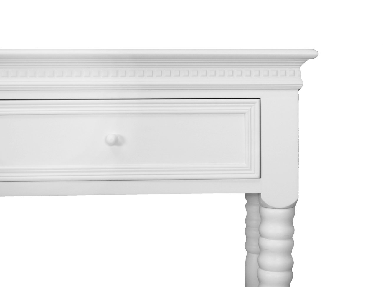 Console Table Dressing Table White Belgravia Style