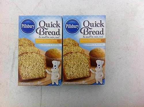 (Pillsbury Quick Bread Lemon Poppy Seed)