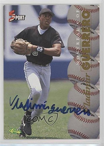 - Vladimir Guerrero (Trading Card) 1995 Classic 5 Sport - [Base] - Non-Numbered Autographs [Autographed] #VLGU