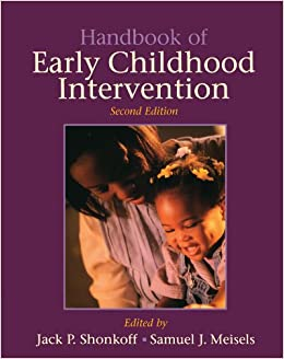 Buy Handbook Of Early Childhood Intervention Book Online At Low