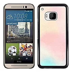 MOBMART Carcasa Funda Case Cover Armor Shell PARA HTC One M9 - Radiant Light Pink Color
