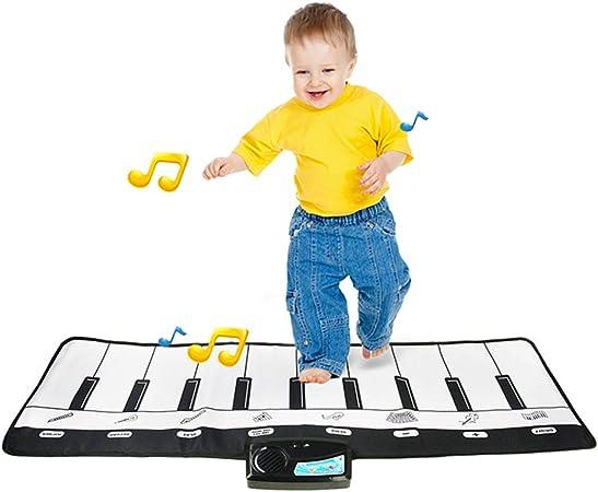 Música piano tocar teclado Mat Música Dance Mat 10 teclas ...